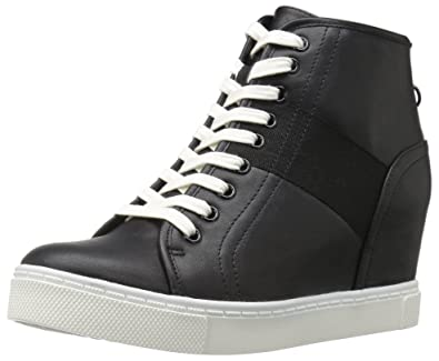 c5e66debceb Steve Madden Women s Lussious Fashion Sneaker Black 7.5 M US