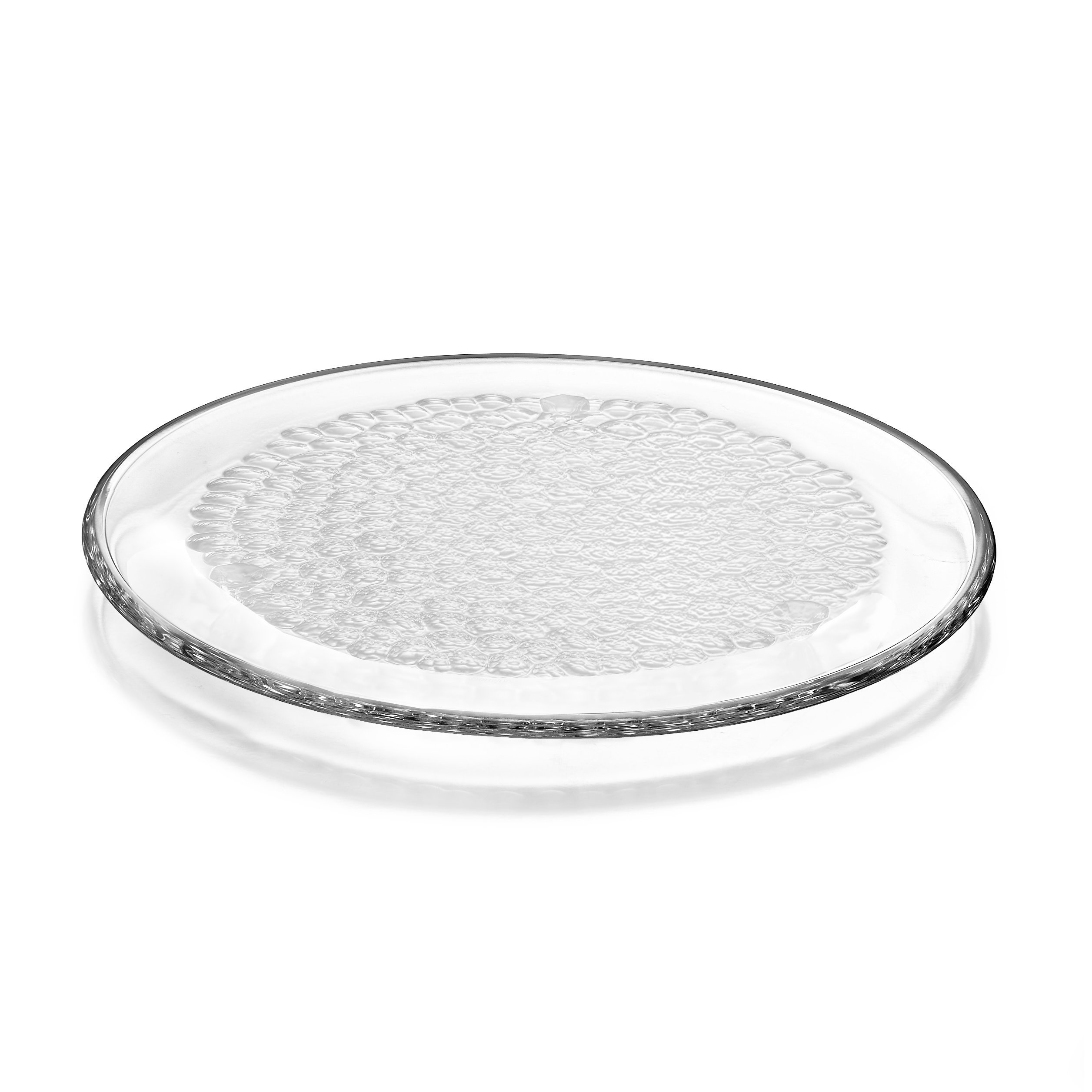 Orrefors Pearl Round Platter, Clear