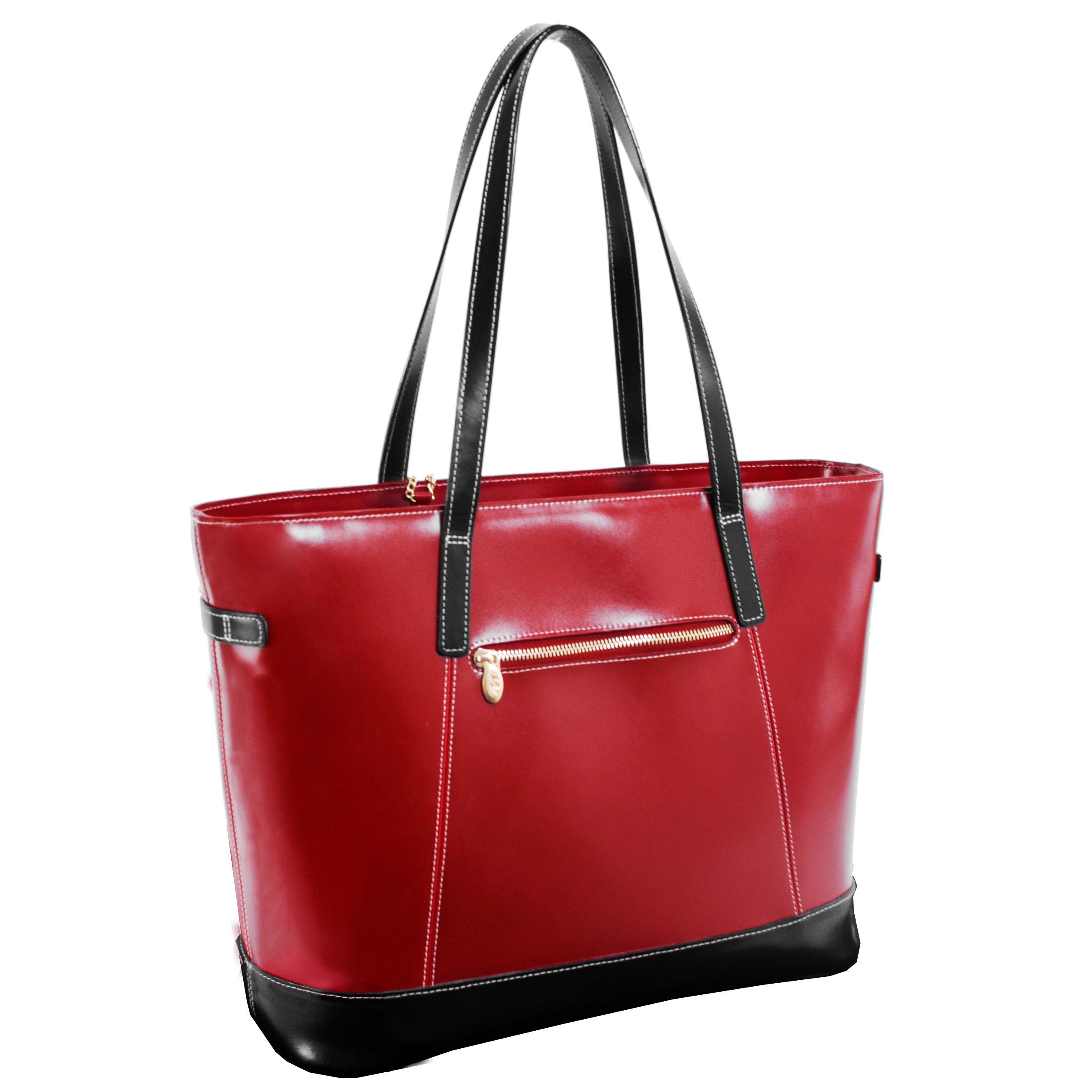 McKleinUSA SERAFINA  97566 Red Leather Women's Business Tote by McKleinUSA (Image #2)