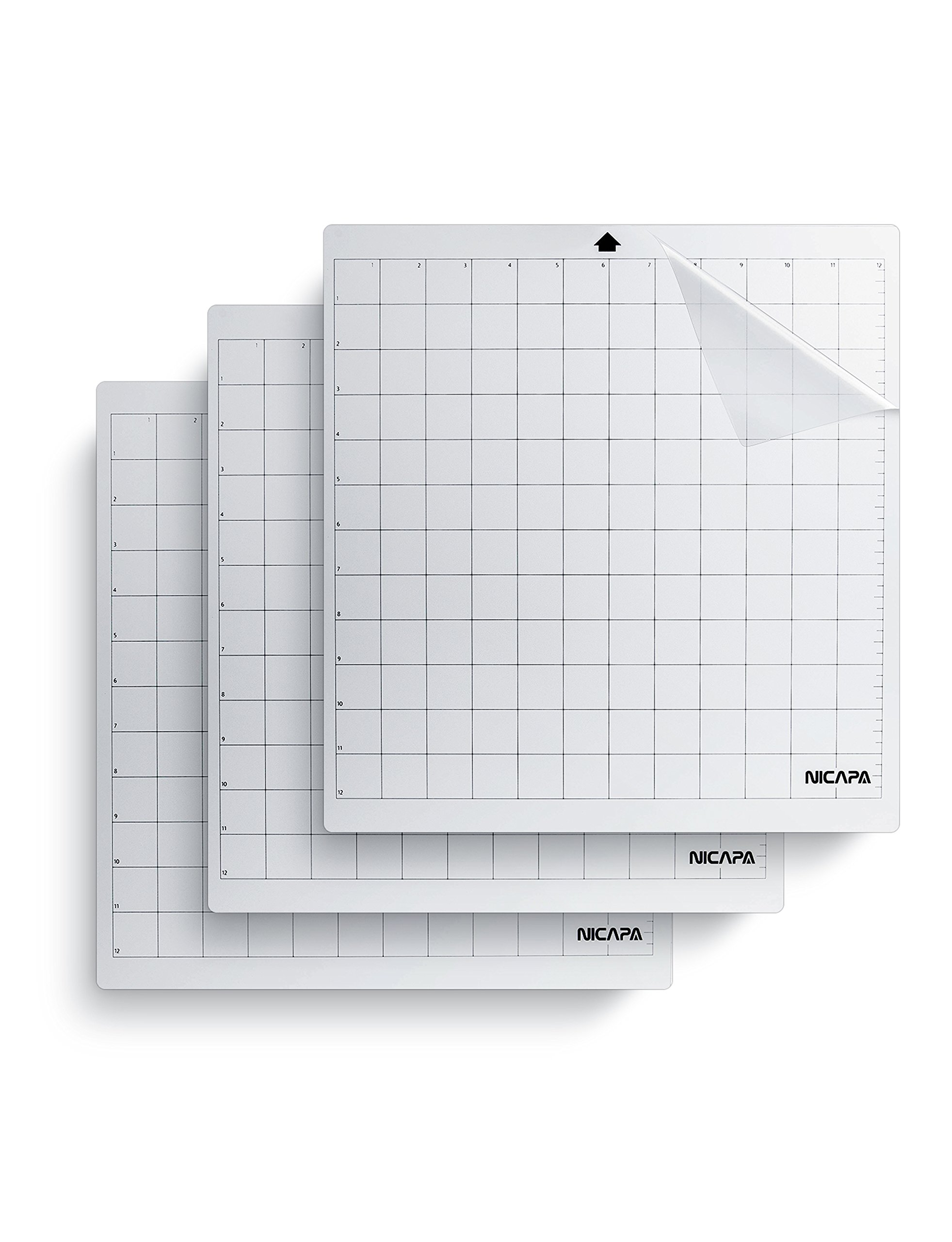 Nicapa Replacement Cutting Mat, 12 by 12-Inch (3 pack )