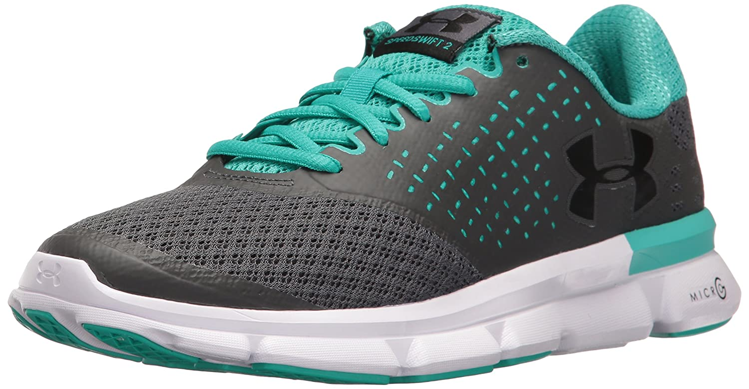 Under Armour Women's Speed Swift 2 Running Shoe B01GQIY9QU 5 M US|Gray
