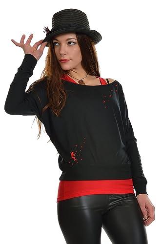 camiseta manga larga / T-Shirt mujer estampa polvere di fata 3Elfen