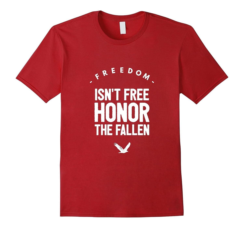 Freedom isn't free courage sacrifice best veterans t-shirt