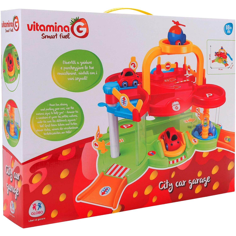 05259 Garage con Ascensore//2 Auto//1 Elicottero Vitamina G Multicolore