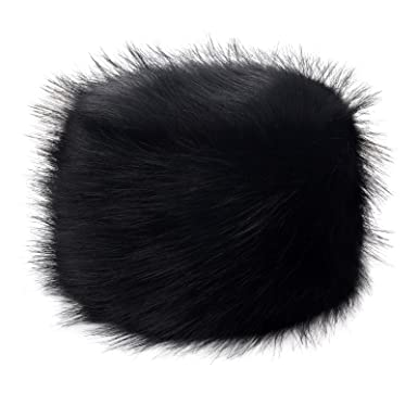 afad909977c Futrzane Women s Russian Cossack Faux Fur Hat for Winter at Amazon ...