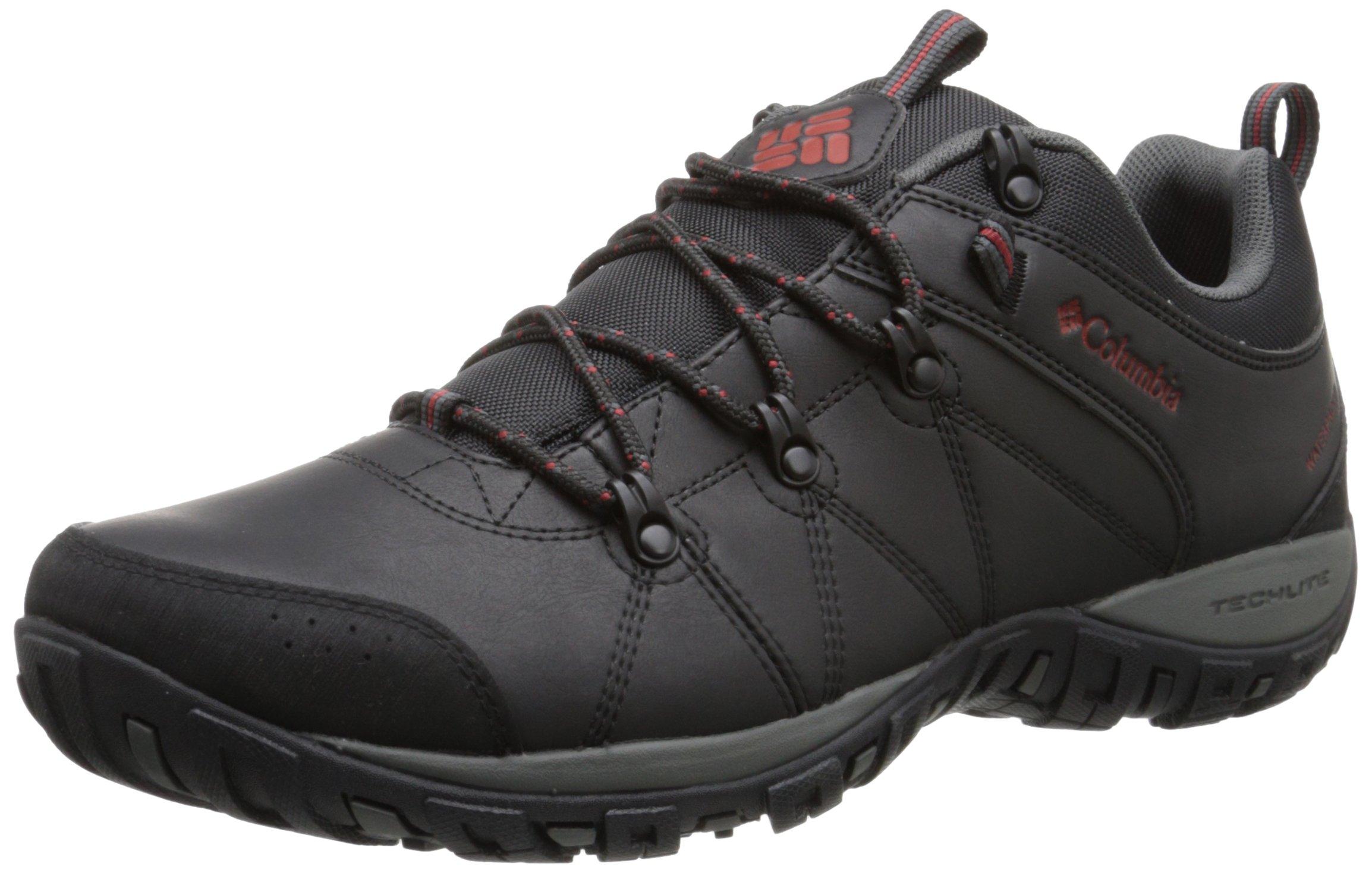 Columbia Men's Peakfreak Venture Waterproof Hiking Shoe, Black, Gypsy, 12 D US