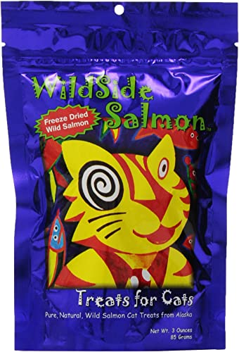 WildSide Salmon Cat Treats – 3 oz