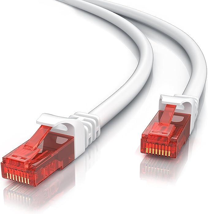 2m Netzwerkkabel Rj45 Ethernet Gigabit Lan Kabel Computer Zubehör