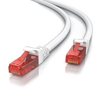 5m - CAT.6 Ethernet Gigabit Lan Netzwerkkabel | 10/100: Amazon.de ...