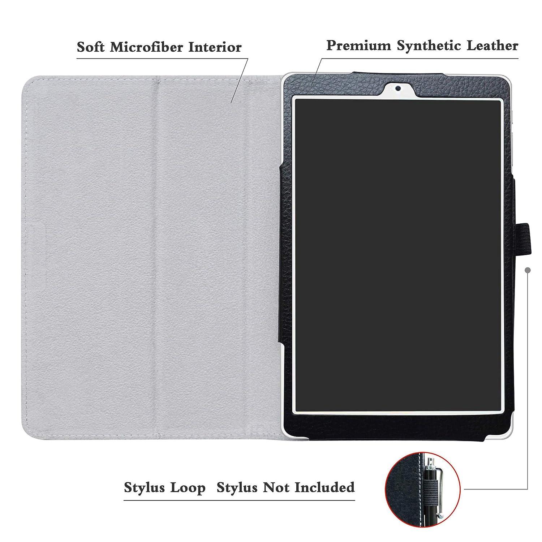 Soporte Cuero con Slim PU Funda Caso Case para 8.0 Teclast P80 Pro Tablet,Dont Touch LFDZ Teclast P80 Pro Funda