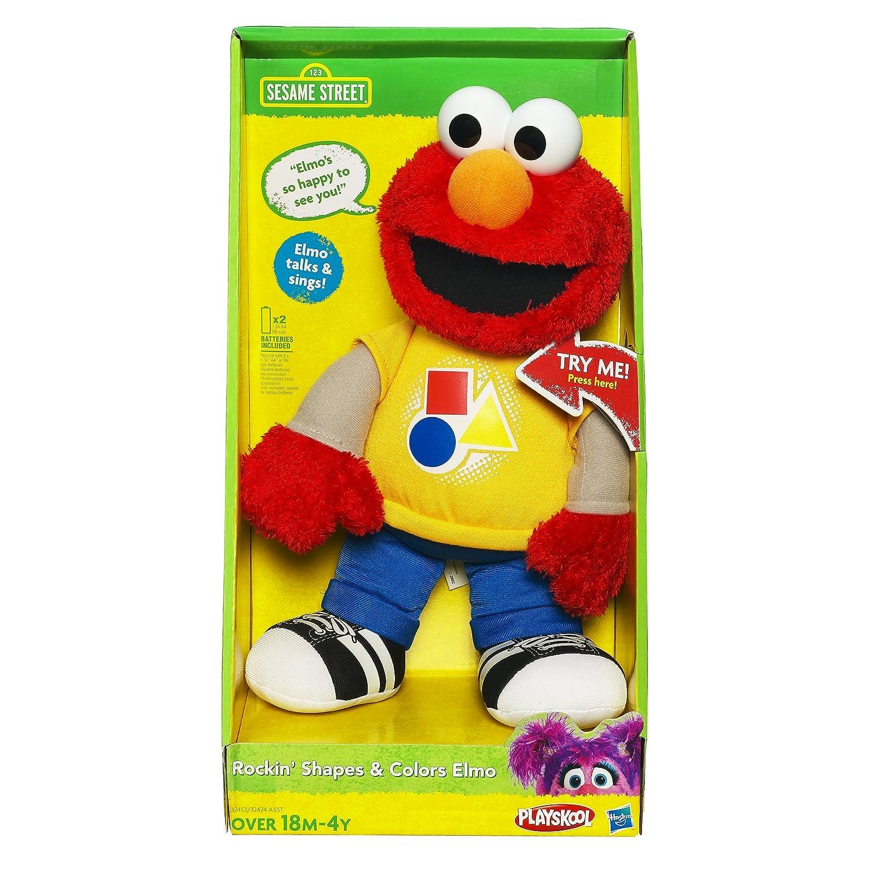 Amazon Playskool Sesame Street Rockin Shapes & Colors Elmo