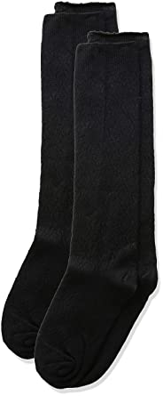 06b13f0dc Jefferies Socks Girls  Little Pointelle Pattern Knee High Socks 2 Pair Pack