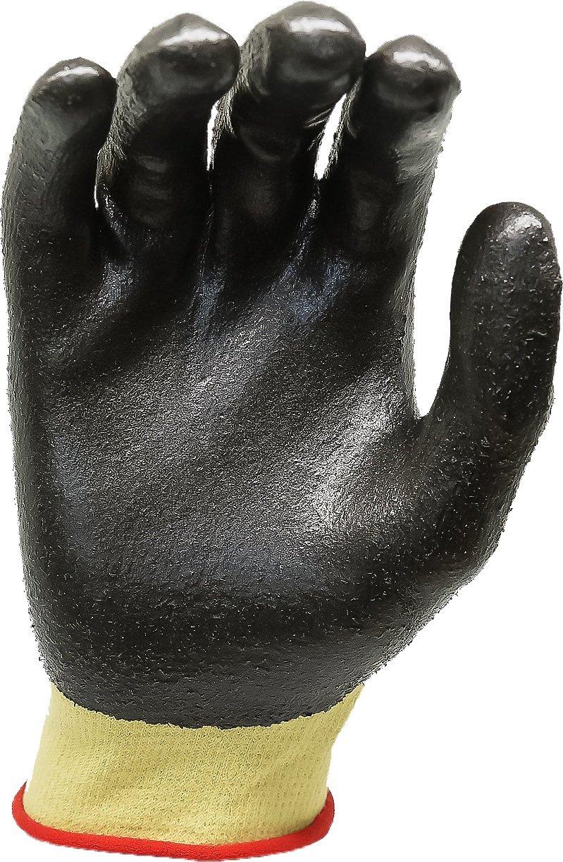 jaune /Plusieurs dimensions Showa Dupont Kevlar de protection Gants/