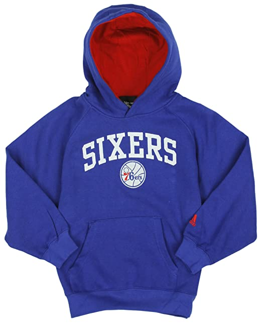 adidas Performance Philadelphia 76ers NBA Little Boys - Sudadera con Capucha para niños, Color Azul