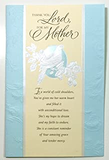 Amazon for a special woman happy mothers day religious mothers day card religiousthank you lord for my mother m4hsunfo