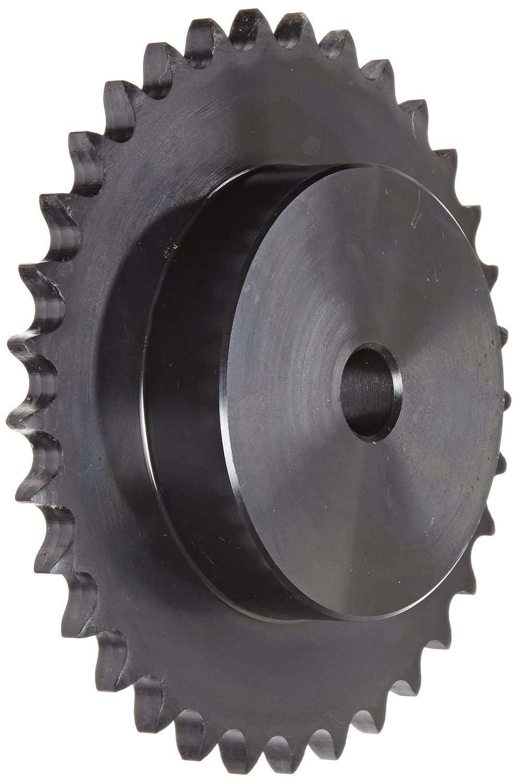 Single Strand Steel 33 Teeth 3//4 Stocked Bore Regal Browning 60B33 Minimum Bore Roller Chain Sprocket 3//4 Stocked Bore