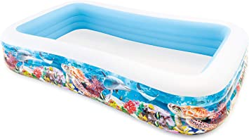 Intex 58485NP - Piscina hinchable tropical 305 x 183 x 56 cm, 1.020 ...