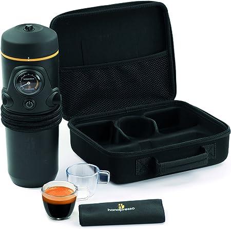 Handpresso Auto Set - Cafetera de cápsulas portátil, 140 W, color negro: Amazon.es: Hogar