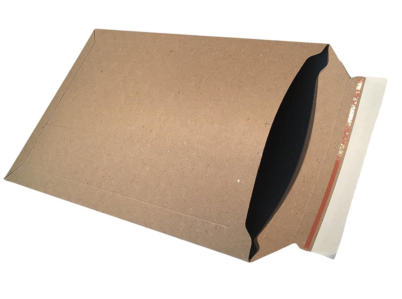100 295 Pochettes d'expédition en carton 295 100 x 375 mm Compatible avec format: A3 plein Pochettes Enveloppes Marron en carton de dimapax c6f300