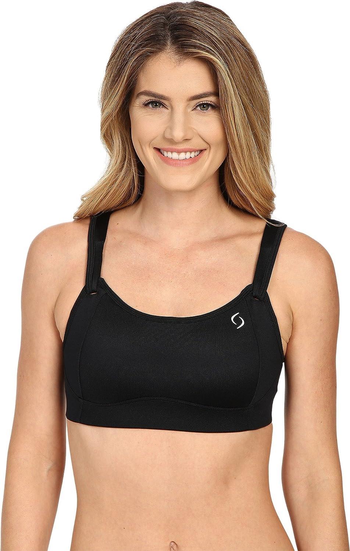 30D Moving Comfort Fiona Medium Impact Adjustable Sports Bra Black