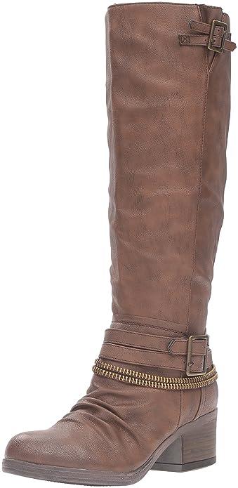 fe8692379c4 Carlos by Carlos Santana Women Knee Fashionable High Boot Brown 5.5 M US