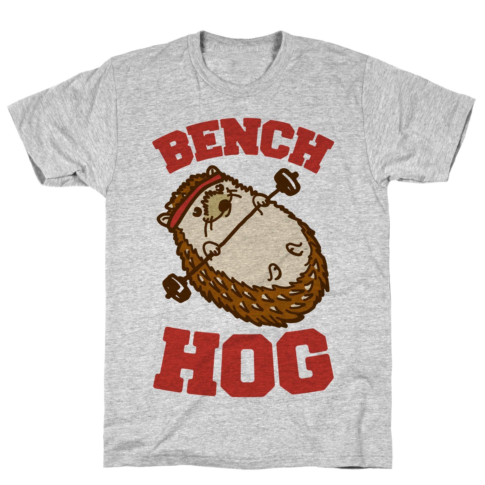 Bench Hog Athletic Gray S Ts Shirts