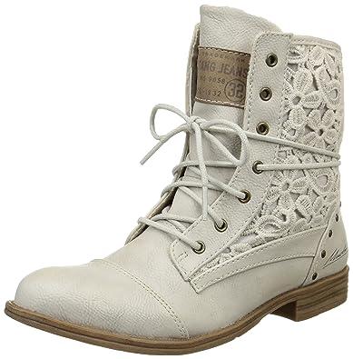 358fc23e733e Mustang Damen 1157-527 Combat Boots  Amazon.de  Schuhe   Handtaschen