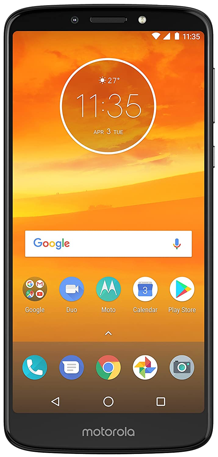 Moto E5 Plus (Indigo Black, 5000 mAh battery)