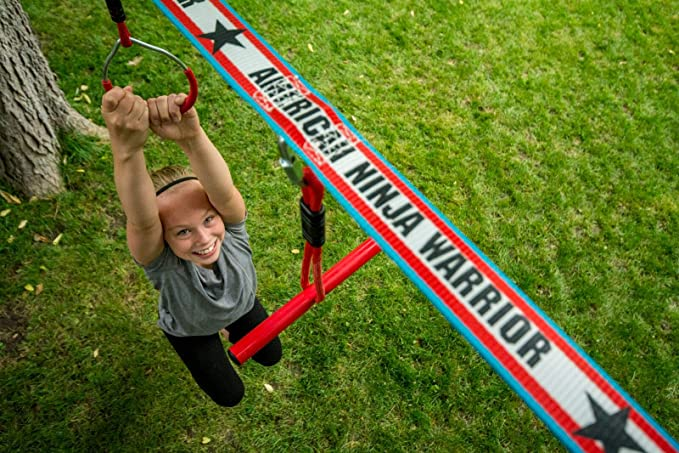 American Ninja Warrior 40 Deluxe ninjaline: Amazon.es ...
