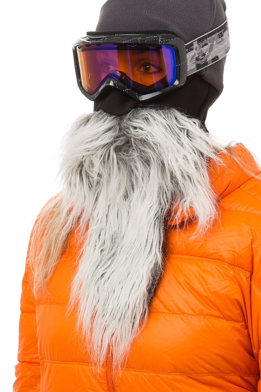 Orange Half Neoprene Hunting Ski Snowboard Biker Camo Funny Beard Face Mask NEW