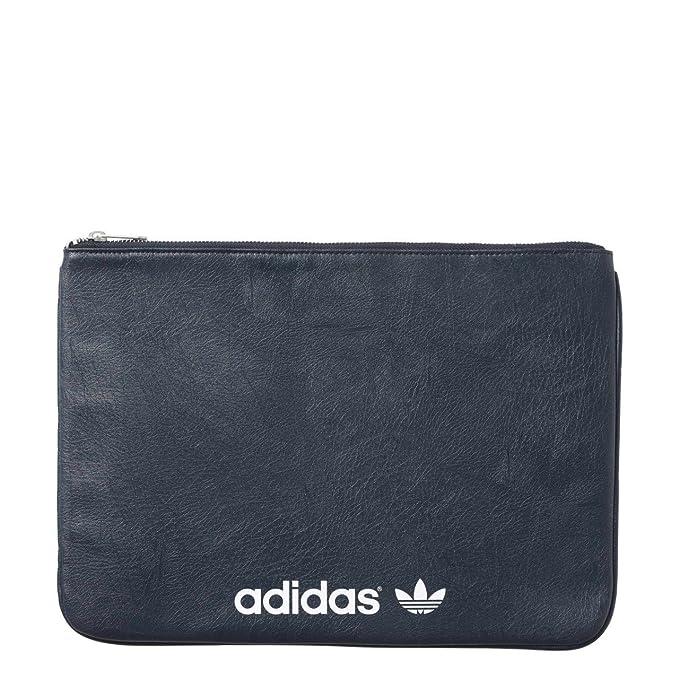 adidas Originals Para mujer Hyke embrague bolsa en azul marino: adidas Originals: Amazon.es: Ropa y accesorios