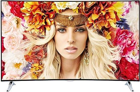 Telefunken XU55A441C - Televisor (140 cm (55 Pulgadas), Ultra HD, sintonizador Triple, 3D, Smart TV): Amazon.es: Electrónica