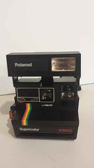 Amazon.com : Polaroid 635CL Supercolor vintage camera : Instant ...