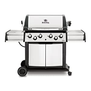 Broil King 988844 Sovereign XLS 90 Liquid Propane Gas Grill with Side Burner and Rear Rotisserie Burner