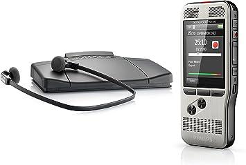Philips Dpm6700 Starter Set Alte Version Bestehend Aus Dpm6000 Und Wiedergabe Set Lfh7177 Bürobedarf Schreibwaren