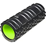Supportiback Deep Tissue Therapy Foam Muscle Roller - Trigger Point Foam Rollers with Grid Foam Roller Design for Deep Massage - Everyday Back Roller & Fitness Foam Roller for Muscle Recovery