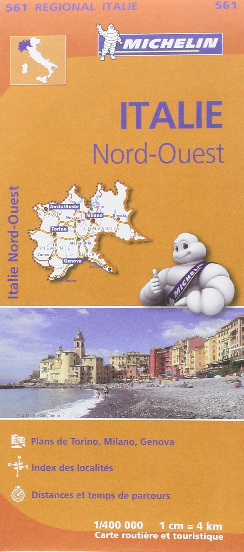 Carte Italie Nord Michelin.Amazon Fr Carte Italie Nord Ouest Michelin Collectif