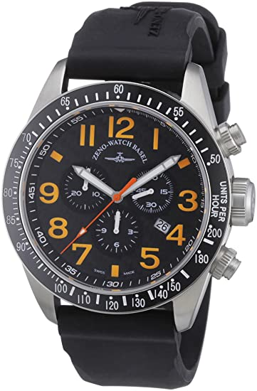 Zeno Watch Basel 6497-5030Q-s15 - Reloj analógico de cuarzo para hombre con