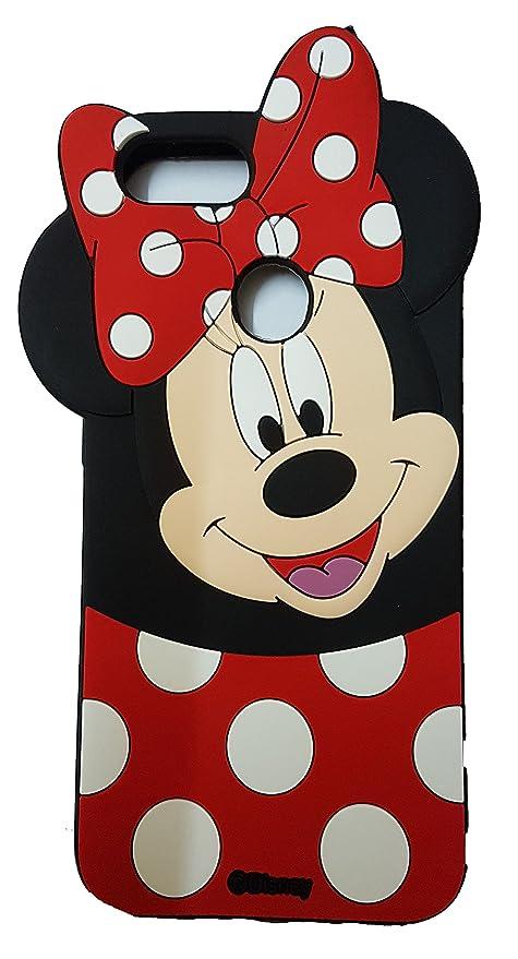 quality design 3848a 6e834 Hola online Xiaomi Mi A1 3D Design Minnie Rubber Back Cover