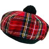 Oxfords Cashmere Scottish Tam with Pompom