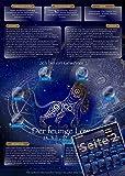 Sternzeichen Löwe - Die Horoskop- und Charakter-Karte für Liebe, Partnerschaft, Beruf, Finanzen und Gesundheit: Die psychologische Astrologie von ... und Sternen [DIN A4 - zweiseitig, laminiert]