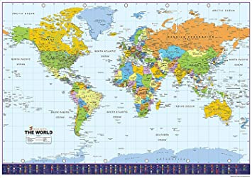 World map with flags paper laminated a0 size 841 x 1189 cm world map with flags paper laminated a0 size 841 x 1189 cm gumiabroncs Images
