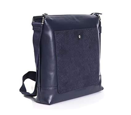 Image Unavailable. Image not available for. Color  Billionaire Italian  Couture Men s Shoulder Bag Dark Blue 8fa580bb989d8
