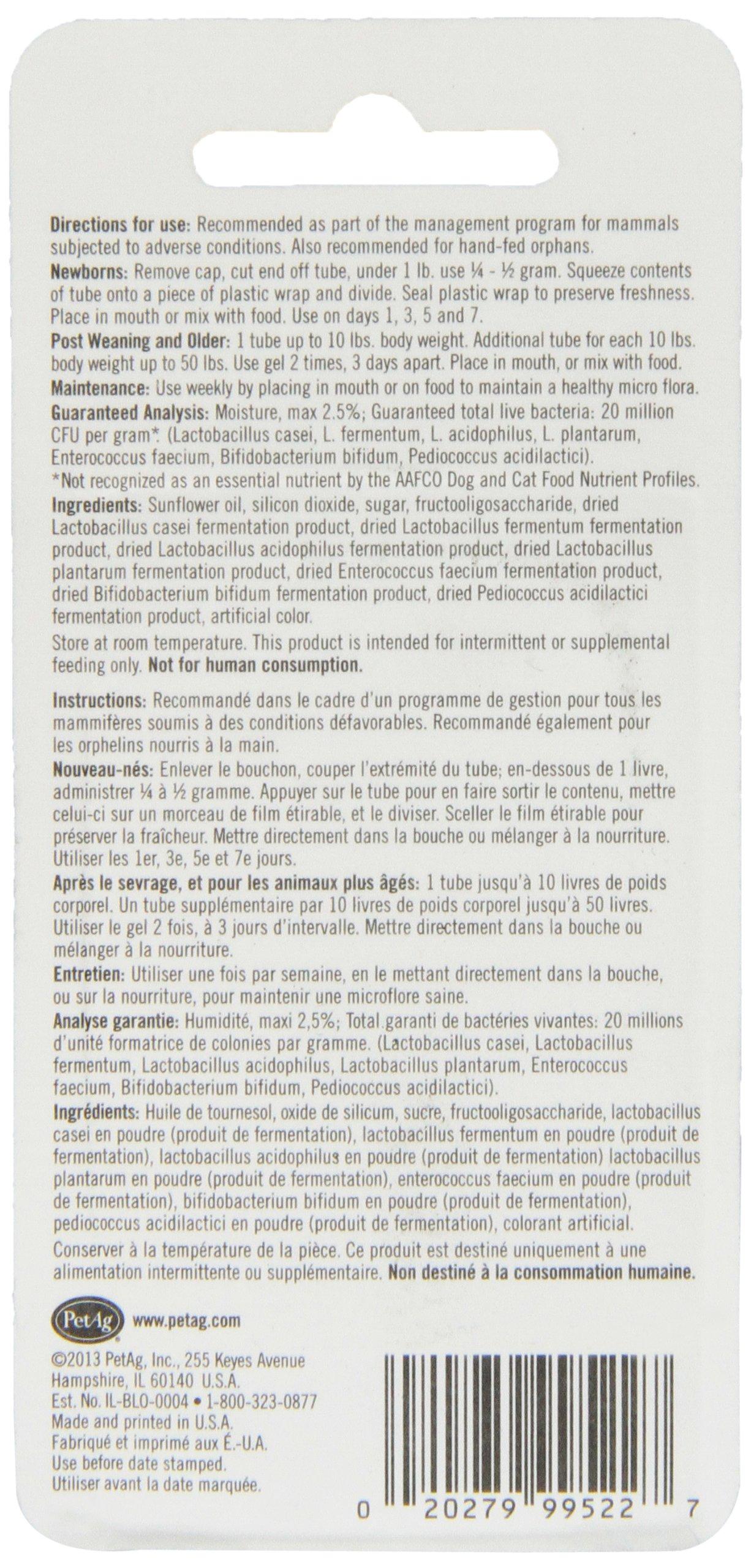PetAg Bene-Bac Plus Pet Gel FOS Prebiotic and Probiotic, 4 Pk 4