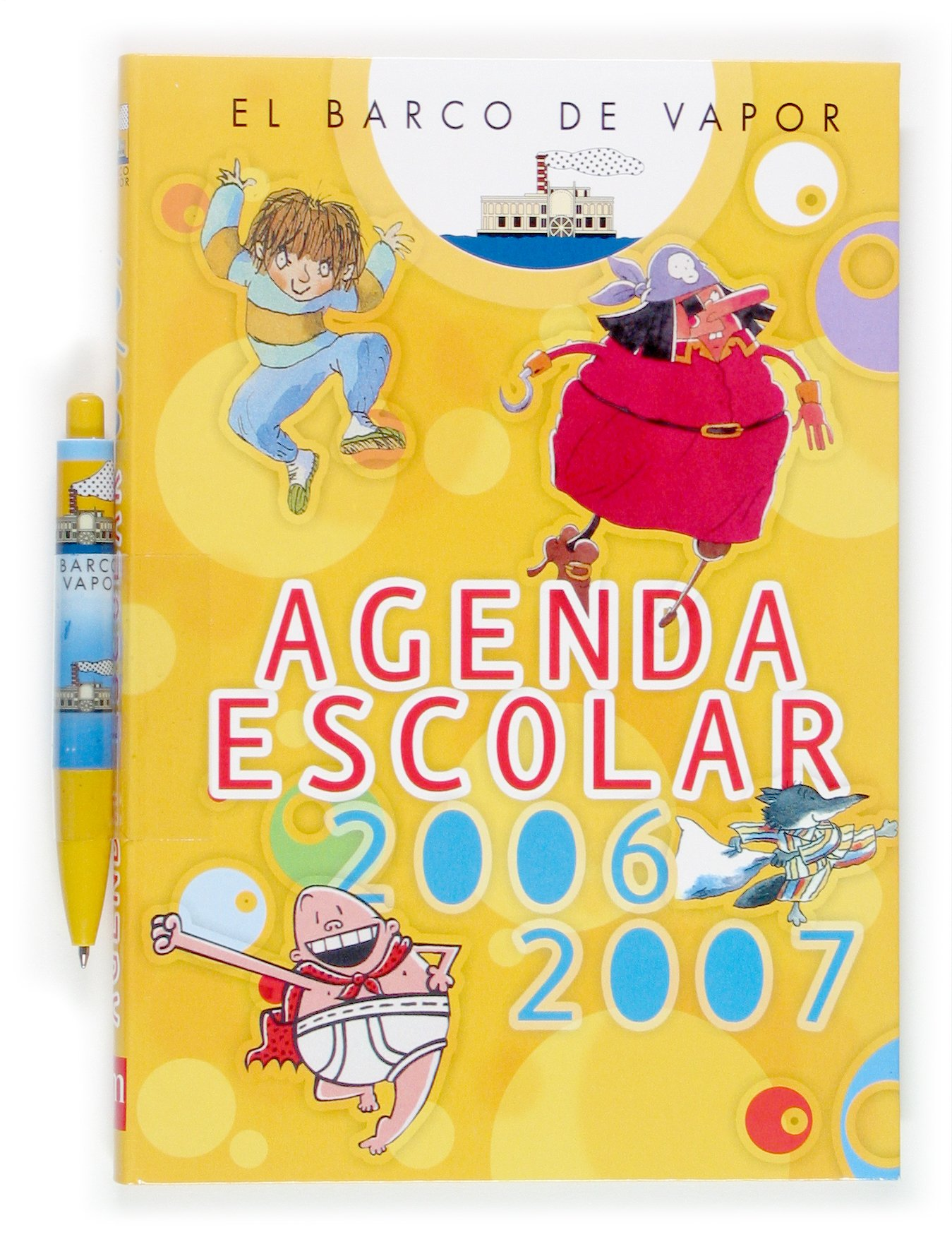 Agenda Escolar 06/07 El Barco de Vapor: 9788467509175 ...