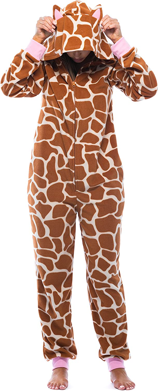 Just Love Adult Onesie with Animal Prints Pajamas