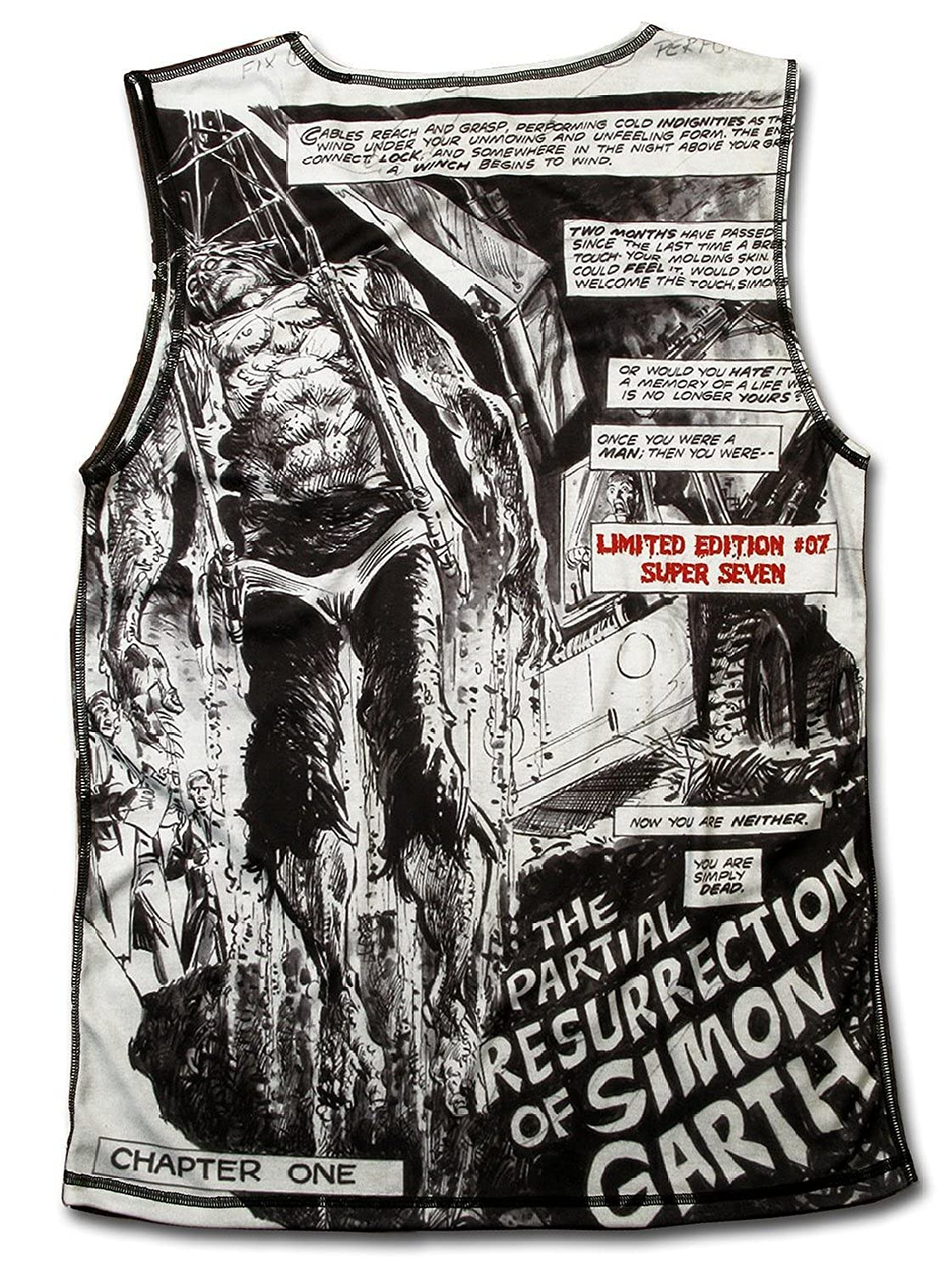 "Zombie ""The Walking Dead"" Voodoo Vintage Black Magic Tank Top"