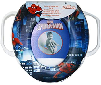 Fine Spiderman Soft Padded Potty With Handle Toilet Training Seat Official Licensed Evergreenethics Interior Chair Design Evergreenethicsorg