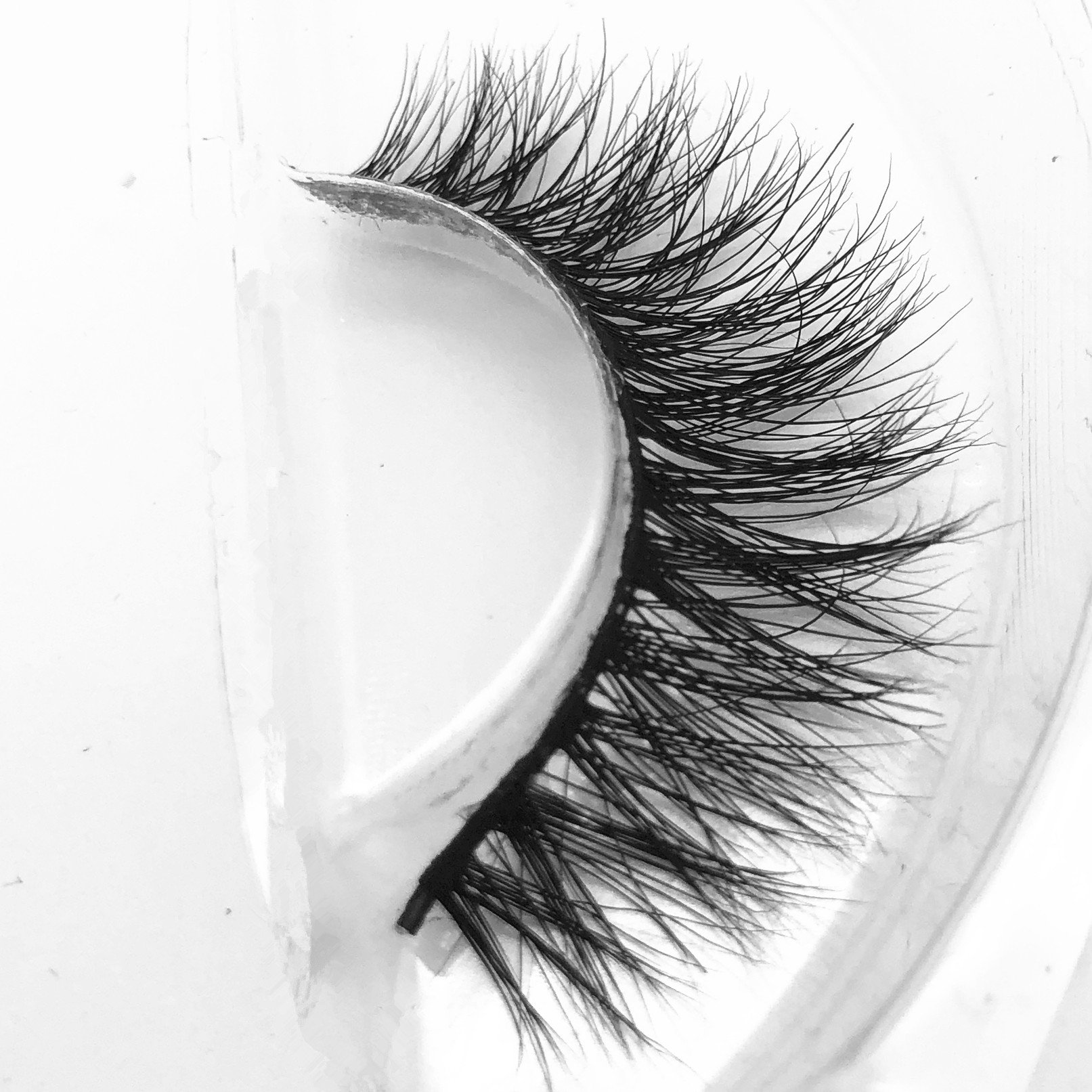 3D36 Lahses1 pair 3D Handmade Thick Mink Eyelashes Natural False Eyelashes for Beauty Makeup fake Eye Lashes Extension (3D16)