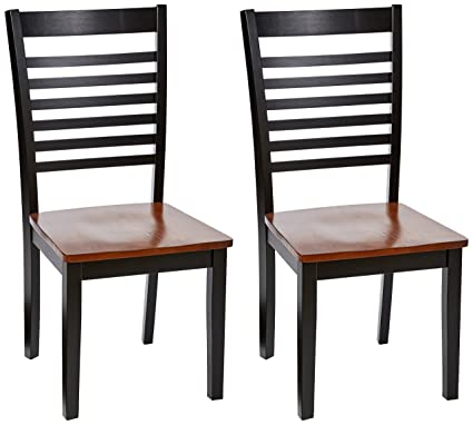 Simmons Upholstery 5008 02 Phoenix Chairs, 2 Pack, Brown